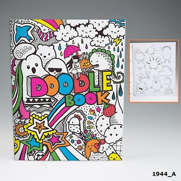 Альбом для раскрашивания Doodle Book - 1944_A производства Depesche