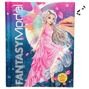Альбом для раскрашивания с музыкой и подсветкой TOPModel Fantasy - 3433_A производства Depesche