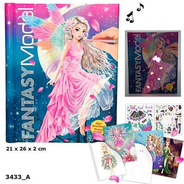 Альбом для раскрашивания с музыкой и подсветкой TOPModel Fantasy - 3433_A