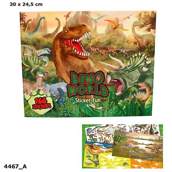Альбом с наклейками Создай Мир динозавров Creative Studio - 4467_A