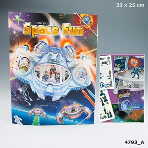 Альбом с наклейками Create Your -  Space Fun 4793_A
