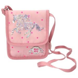 Сумка-кошелек на шею, розовая Miss Melody - 4984_A