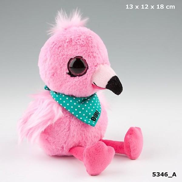 Плюшевая игрушка Snukis фламинго Биби - 5346_A производства Depesche