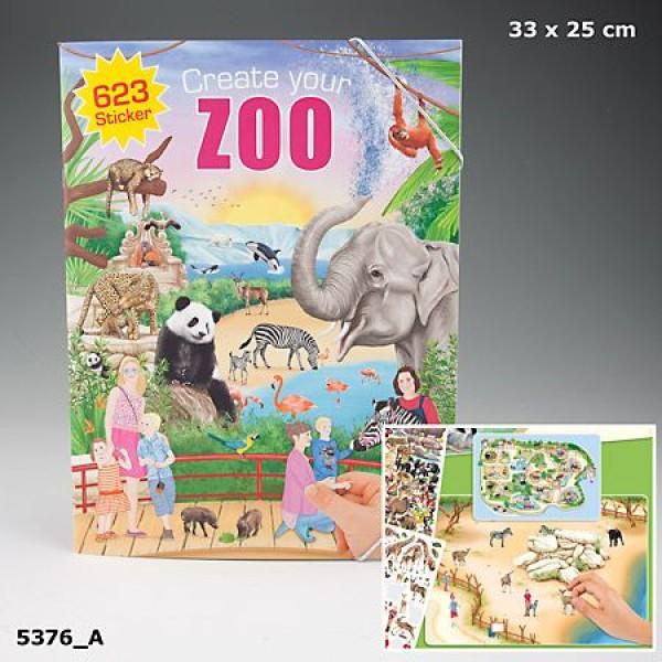 Альбом с наклейками Creative Studio - Создай Зоопарк - 5376_A производства Depesche