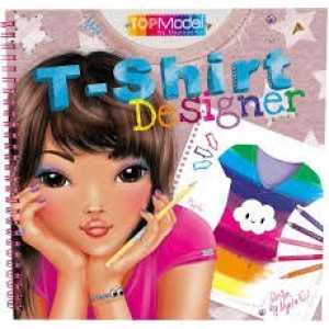 Разукрашка TOP Model T-Shirt Designer - 5469_A