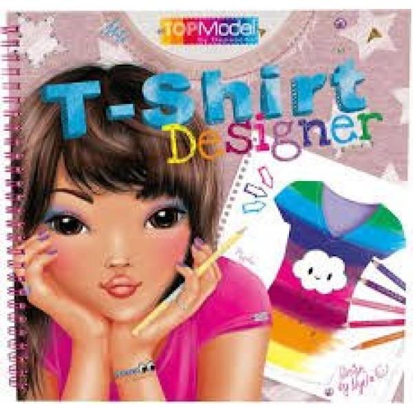 Разукрашка TOPModel T-Shirt Designer - 5469_A производства Depesche