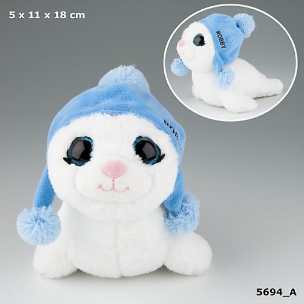 Плюшевая игрушка Snukis тюлень Робби - 5694_A производства Depesche