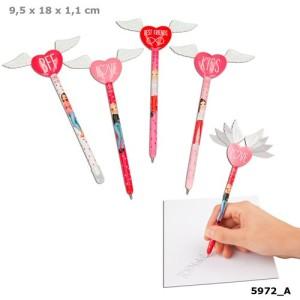 Ручка шариковая с крыльями и сердцем TOPModel - 5972_A