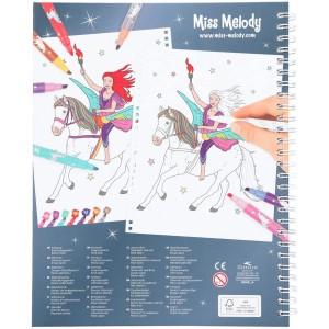 Альбом Miss Melody для творчества с фломастерами - 6049_A производства Depesche