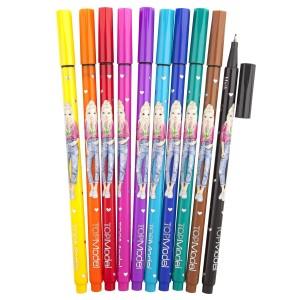 Ручки капиллярные, 10 цветов  TOPModel 6321_A производства Depesche