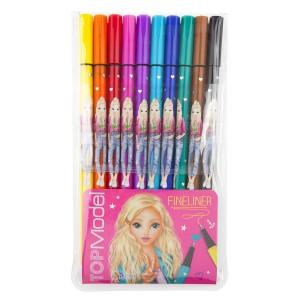 Ручки капиллярные, 10 цветов  TOPModel 6321_A