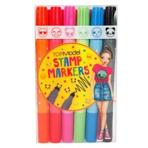 Фломастеры цветные со штампами, TOPModel - 6432_A