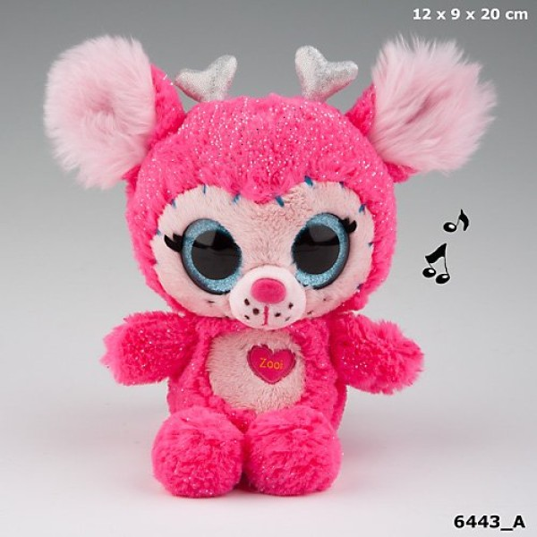 Плюшевая игрушка Ylvi & the Minimoomis со звуками Зоуи - 6443_A производства Depesche