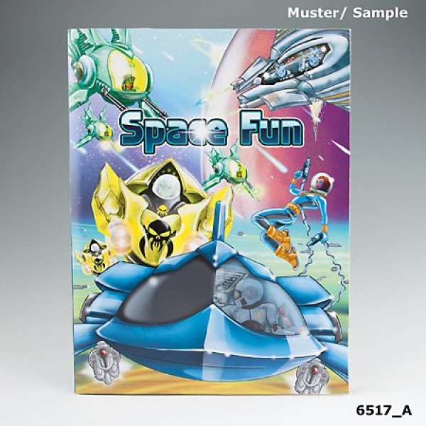 Альбом с наклейками Creative Studio - Создай Космос - 6517_A