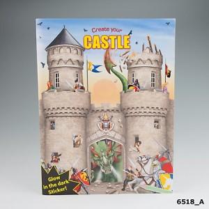 Альбом с наклейками Creative Studio - Создай Замок - 6518_A