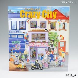 Альбом с наклейками Creative Studio - Создай свой город - 6519_A