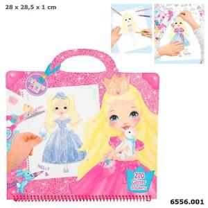 Альбом для раскрашивания Гламур Princess Mimi - 6556_A