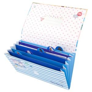 Папка с набором для писем, голубая Miss Melody - 6567 производства Depesche
