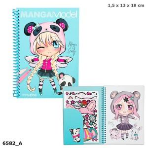 Альбом для раскрашивания MANGA Model - 6582_А