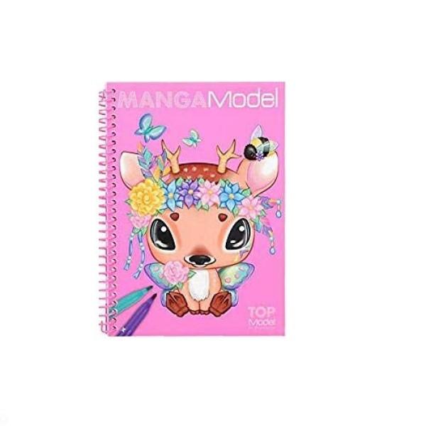 Альбом для раскрашивания Манга, мини TOPModel Manga 6582_B