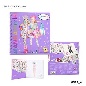 Альбом с наклейками Наряди Меня TOPModel Manga - 6585_A
