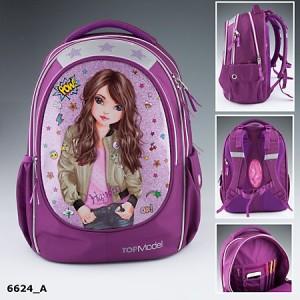 TOPModel Рюкзак школьный Друзья, фиолетовый - 6624_A