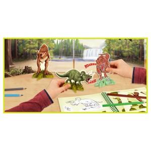 Альбом для игр Динозавры Dino World - 6640_A производства Depesche