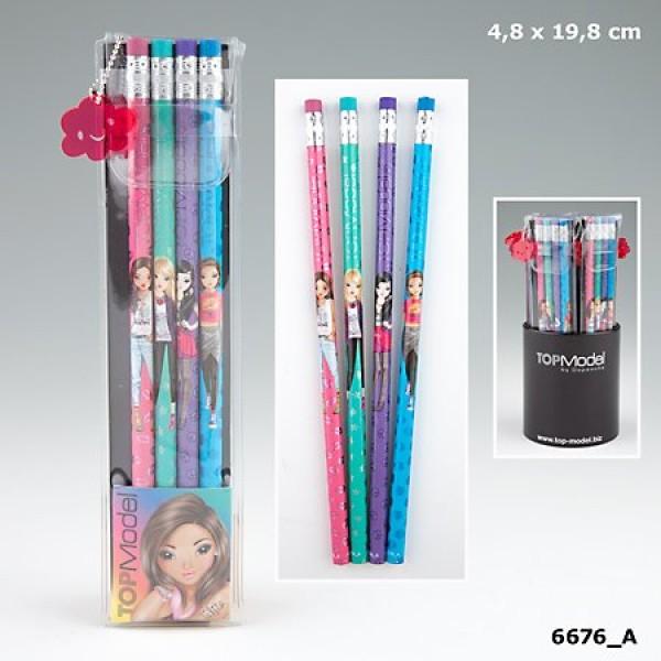 Набор простых карандашей в футляре TOP Model - 6676_A производства Depesche