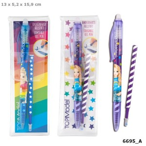 Стираемая ручка гелевая с ластиком TOPModel - 6695_A