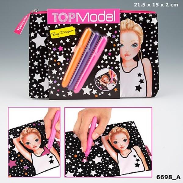 Разукрась косметичку (пенал)  TOP Model Bag Designer 6698_A производства Depesche