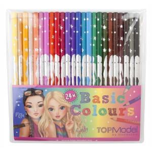 Карандаши цветные TOPModel , 24 цвета - 046710