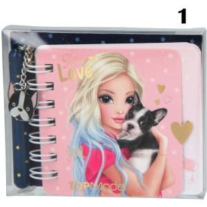 Блокнот TOPModel для записей с ручкой DOG, мини - 046733/006733