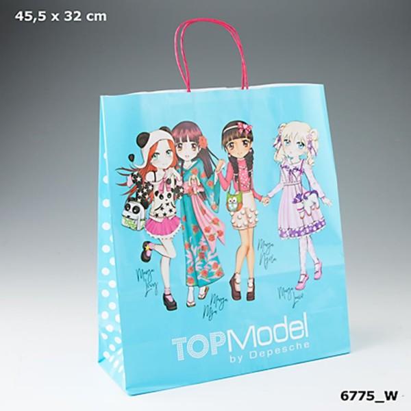 Бумажный пакет, большой TOP Model -  6775_W