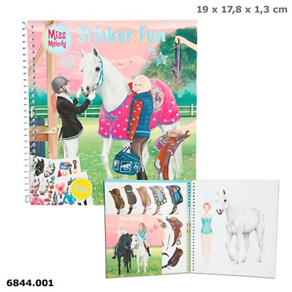 Альбом с наклейками Miss Melody - 6844.001