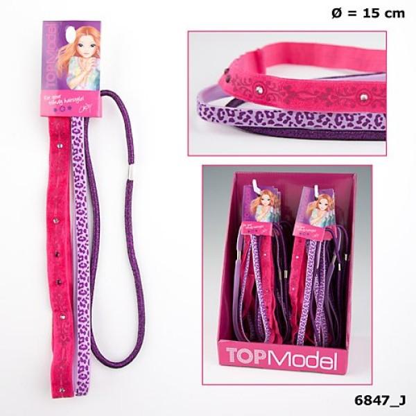 Комплект резинок для волос TOPModel 6847 производства Depesche