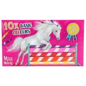 Карандаши цветные, 10 цветов Miss Melody - 7461 производства Depesche