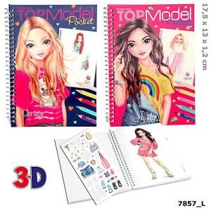 Карманная раскраска 3D TOPModel - 7857_L