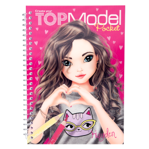 Карманная раскраска 3D TOPModel - 7857_K (Hayden)