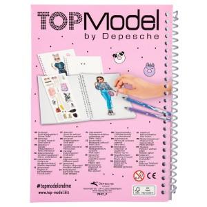 Карманная раскраска TOPModel 3D - 047857_P производства Depesche