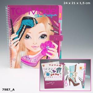 """Альбом раскраска с наклейками, волшебной палочкой TOPModel """"Shoe Designer - Дизайнер обуви"""" 7987_A"""