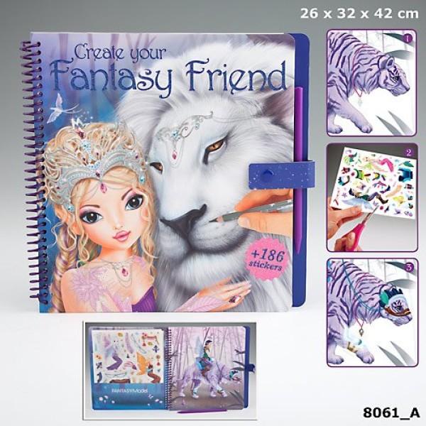 Раскраска с переводными наклейками TOPModel Fantasy Friend - 8061_A