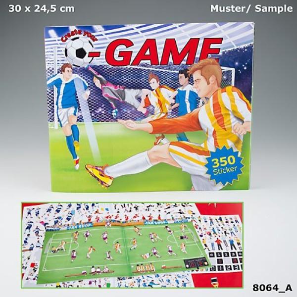 Альбом с наклейками Creative Studio - Футбольный матч - 8064_A производства Depesche