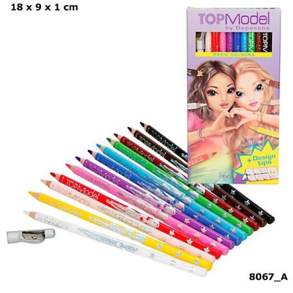 Набор цветных карандашей базовых цветов TOPModel - 8067_A производства Depesche
