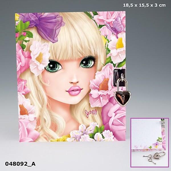 Дневник на замочке TOP Model Дженни - 8092_A