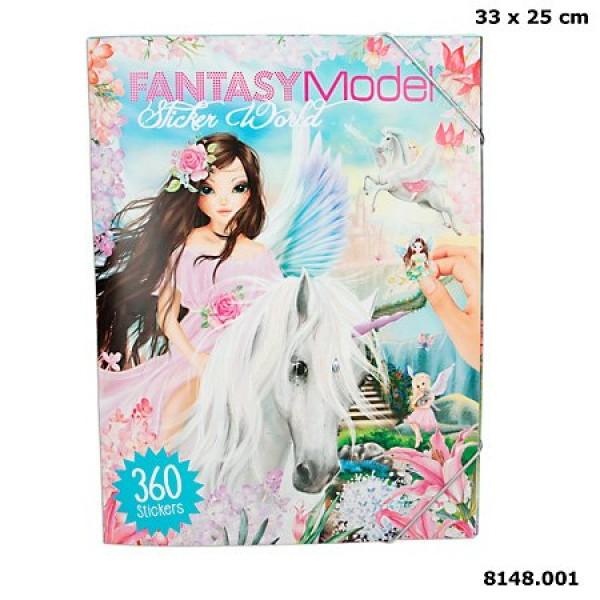 Альбом с наклейками Мир Стикеров TOPModel Fantasy - 8148.001