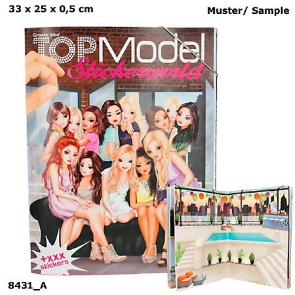 Альбом с наклейками TOPModel -Мир ТОП Моделей - 8431_A производства Depesche