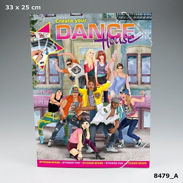 Альбом с наклейками Creative Studio - Создай Школу танцев - 8479_A производства Depesche