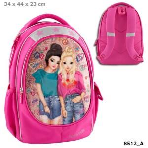 Рюкзак школьный Друзья, розовый TOPModel  - 8512_A