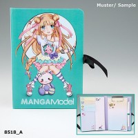 Папка с зажимом и набором для записей TOPModel Manga - 8518_A