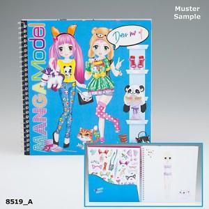 Альбом с наклейками TOPModel Manga Наряди меня - 8519_A
